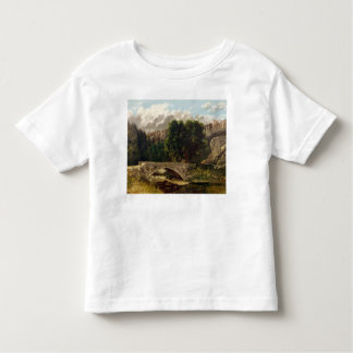 The Pont de Fleurie, Switzerland, 1873 Toddler T-Shirt