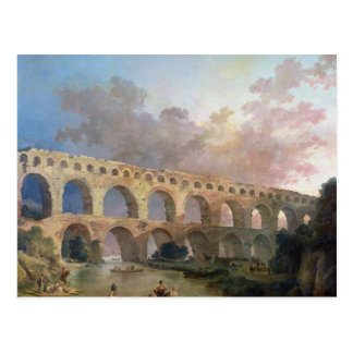 The Pont du Gard, Nimes, c.1786 Postcard