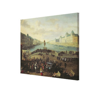 The Pont Neuf, Paris, 1665-69 Canvas Print