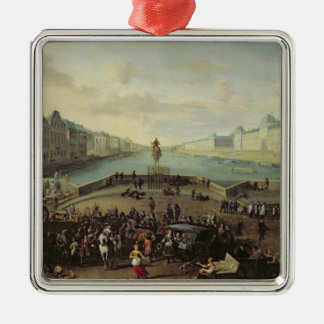 The Pont Neuf, Paris, 1665-69 Christmas Ornament