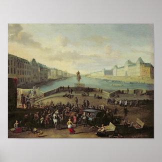 The Pont Neuf, Paris, 1665-69 Poster