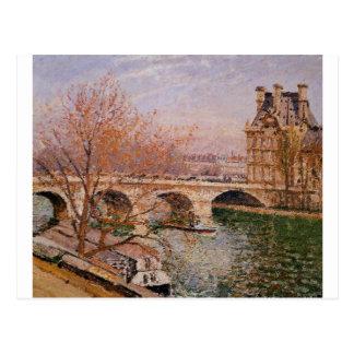 The Pont Royal and the Pavillion de Flore Camille Postcard