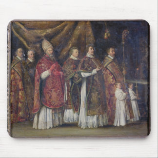 The Pontifical Mass or, The Procession Mouse Mat