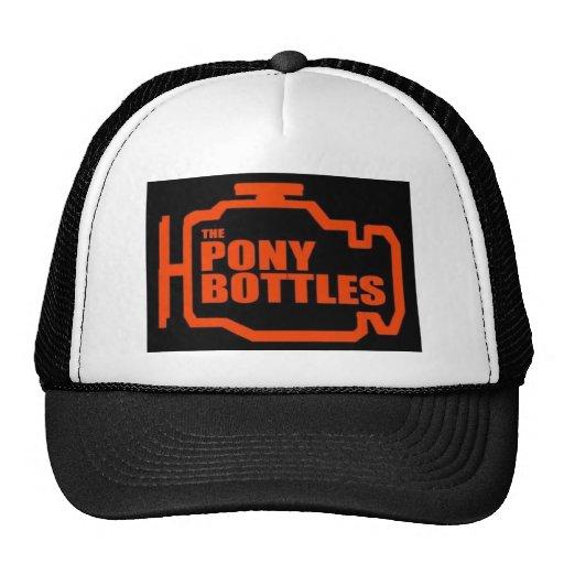 The Pony Bottles' Clothing Line Mesh Hats