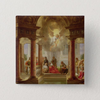 The Pool of Bethesda, 1645 15 Cm Square Badge