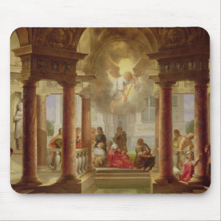 The Pool of Bethesda, 1645 Mouse Mat
