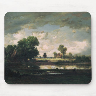 The Pool with a Stormy Sky, c.1865-7 Mouse Mat