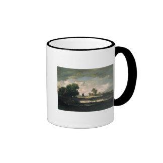 The Pool with a Stormy Sky, c.1865-7 Mug