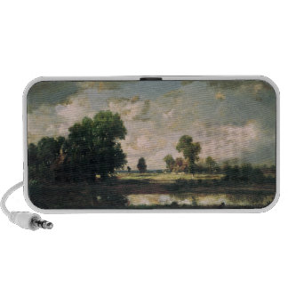 The Pool with a Stormy Sky, c.1865-7 Travel Speakers