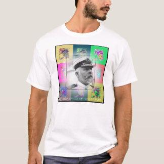 The Pop Art Captain Smith of the Titanic T-Shirt