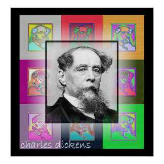 The Pop Art Charles Dickens Poster