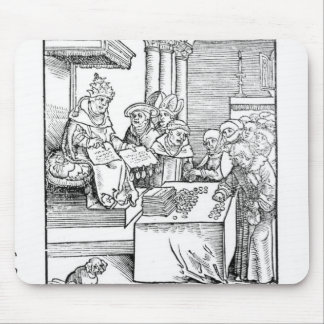 The Pope selling Indulgences Mouse Pad