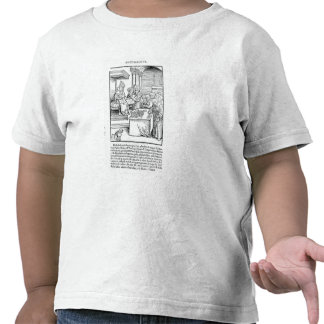 The Pope selling Indulgences Tee Shirt