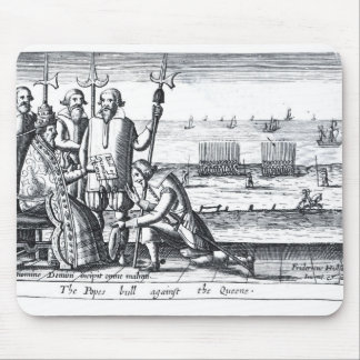 The Pope's Bull against the Queen in 1570 Mouse Pad