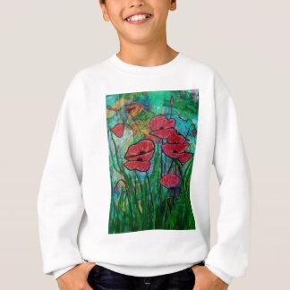 The poppy blossom sweatshirt