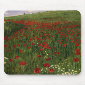 The Poppy Field, 1896 Mouse Mat
