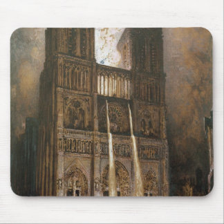 The Populace Besieging Notre-Dame Mouse Mat