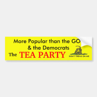 The Popular Party Bumper Sticker