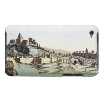 The port and town of Malacca, Malaysia, illustrati iPod Touch Case