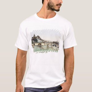 The port and town of Malacca, Malaysia, illustrati T-Shirt