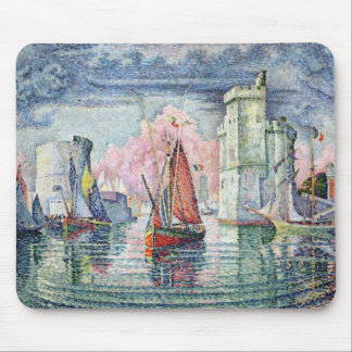 The Port at La Rochelle, 1921 Mouse Mat
