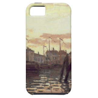 The Port at Zaandam by Claude Monet iPhone 5 Cases