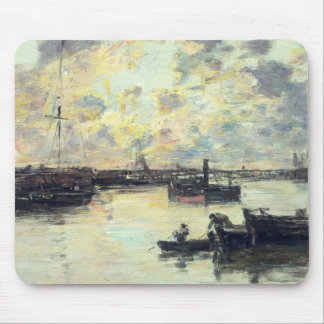 The Port, c.1895 (oil on panel) Mouse Mat