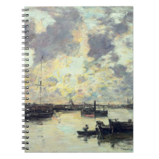 The Port, c.1895 (oil on panel) Notebooks