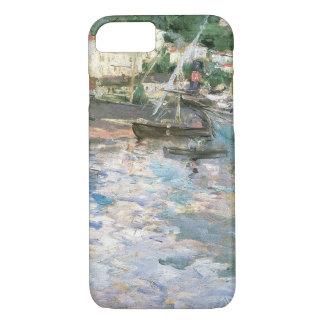 The Port, Nice by Berthe Morisot, Vintage Fine Art iPhone 7 Case