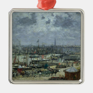 The Port of Bordeaux, 1874 Christmas Ornament
