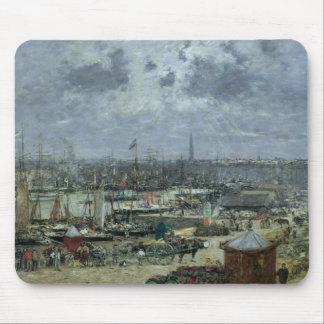 The Port of Bordeaux, 1874 Mouse Mat
