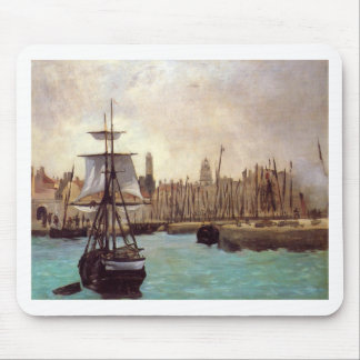 The Port of Bordeaux by Edouard Manet Mouse Pad