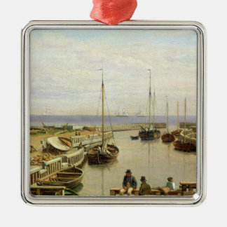 The Port of Dragor, 1826 Christmas Ornament