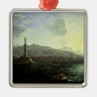 The Port of Genoa, Sea View Christmas Ornament