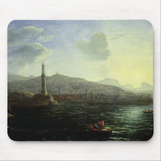 The Port of Genoa, Sea View Mouse Mat