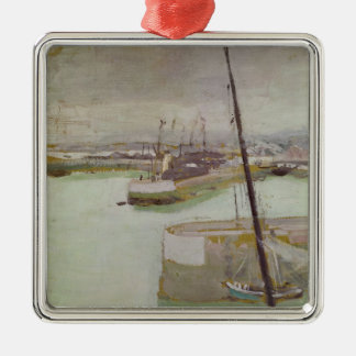 The Port of Honfleur, 1919 Christmas Ornament