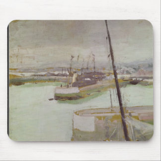 The Port of Honfleur, 1919 Mouse Mat
