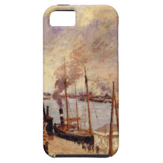 The Port of Le Havre 2 by Camille Pissarro iPhone 5 Case