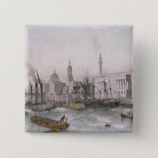 The Port of London 15 Cm Square Badge