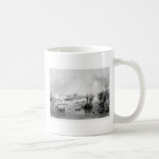 THE PORT OF LONDON 1840 COFFEE MUG