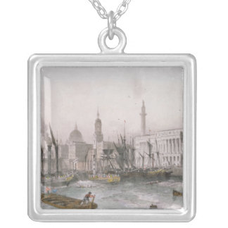 The Port of London Silver Plated Necklace