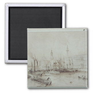 The Port of London Square Magnet