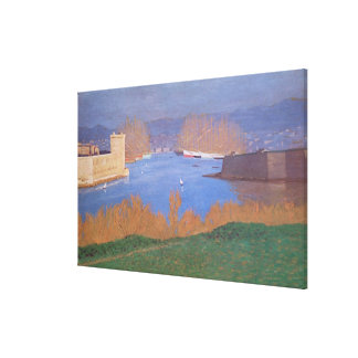 The Port of Marseille, 1901 Canvas Print