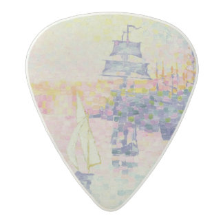 The Port of Marseilles, c.1909 (oil on canvas) Acetal Guitar Pick