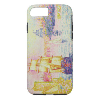 The Port of Marseilles, c.1909 (oil on canvas) iPhone 8/7 Case