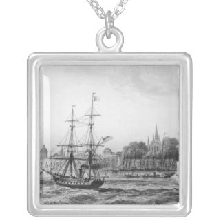 The Port of New Orleans Silver Plated Necklace