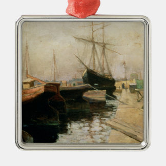 The Port of Odessa, 1900 Christmas Ornament