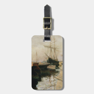 The Port of Odessa, 1900 Luggage Tag