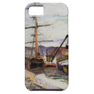 The Port of Rouen by Camille Pissarro iPhone 5 Covers