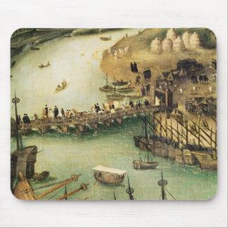 The Port of Seville, c.1590 Mouse Mat